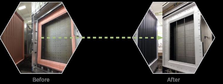 Flat-Panel-Display-Refurbishment-Before-After